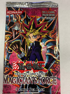 Yugioh Magician's Force Booster-Pack (1st Edition) Sealed