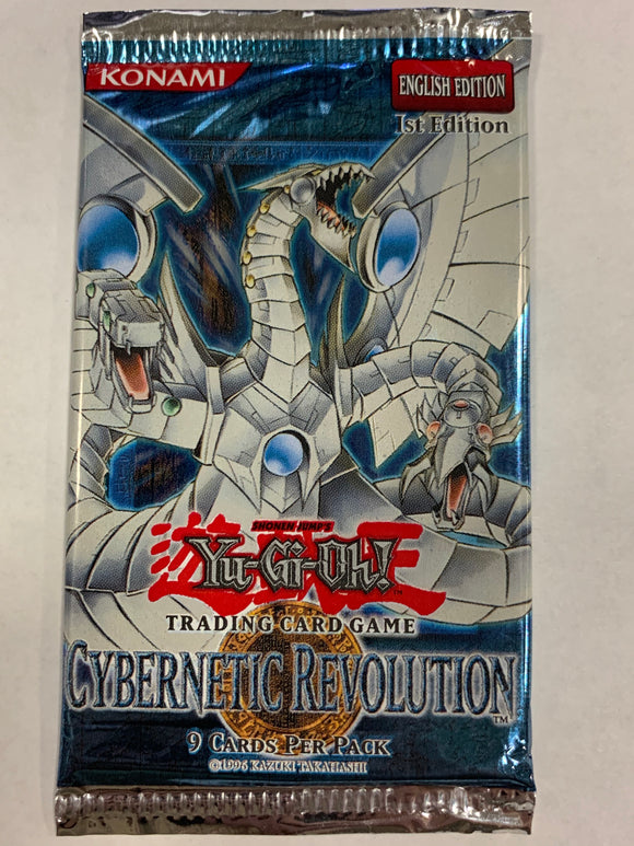 Yugioh Cybernetic Revolution Booster-Pack (1st Edition) Sealed