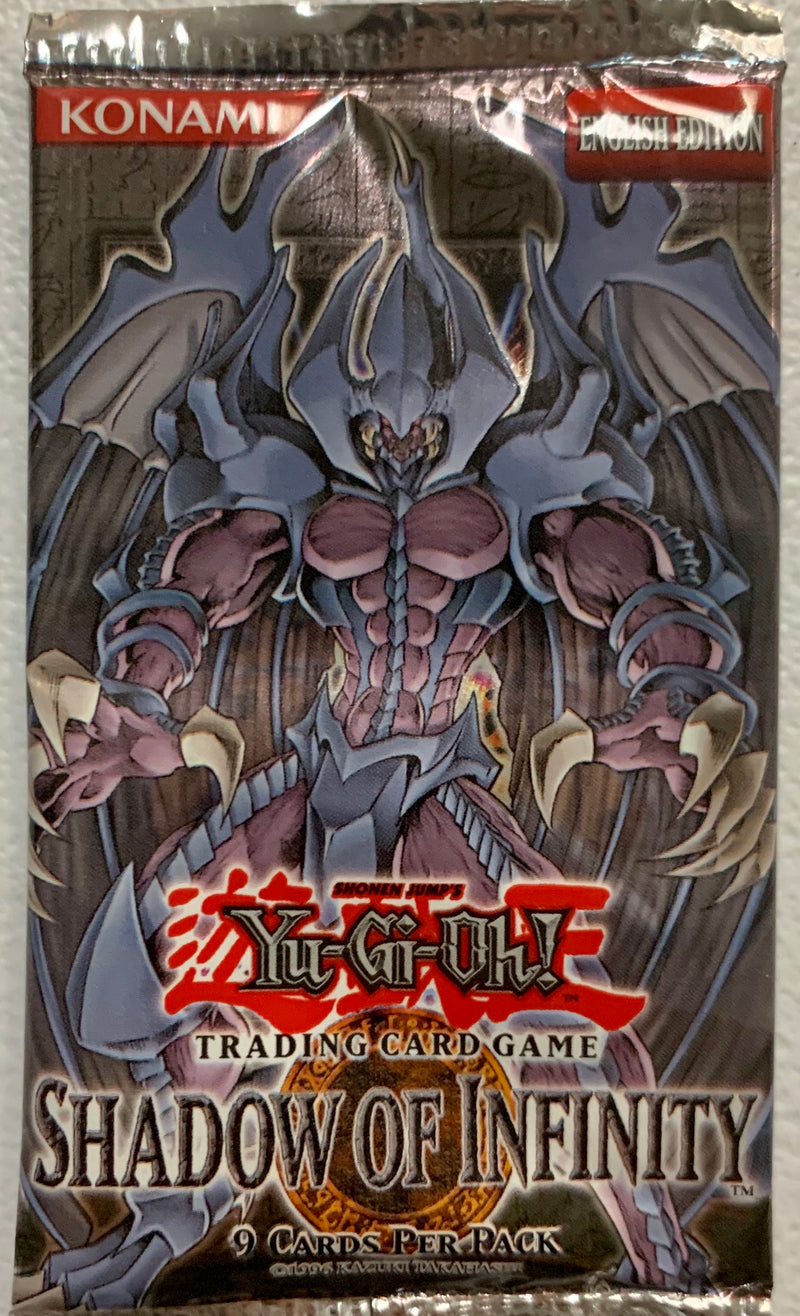 Yugioh Shadow of Infinity Booster-Pack (Unlimited) Sealed
