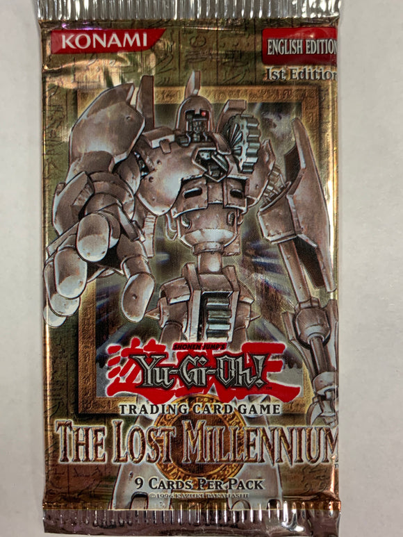 Yugioh The Lost Millennium Booster-Pack (1st Edition) Sealed