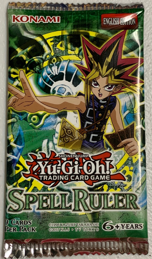 Yugioh Spell Ruler Booster-Pack (Unlimited) Sealed