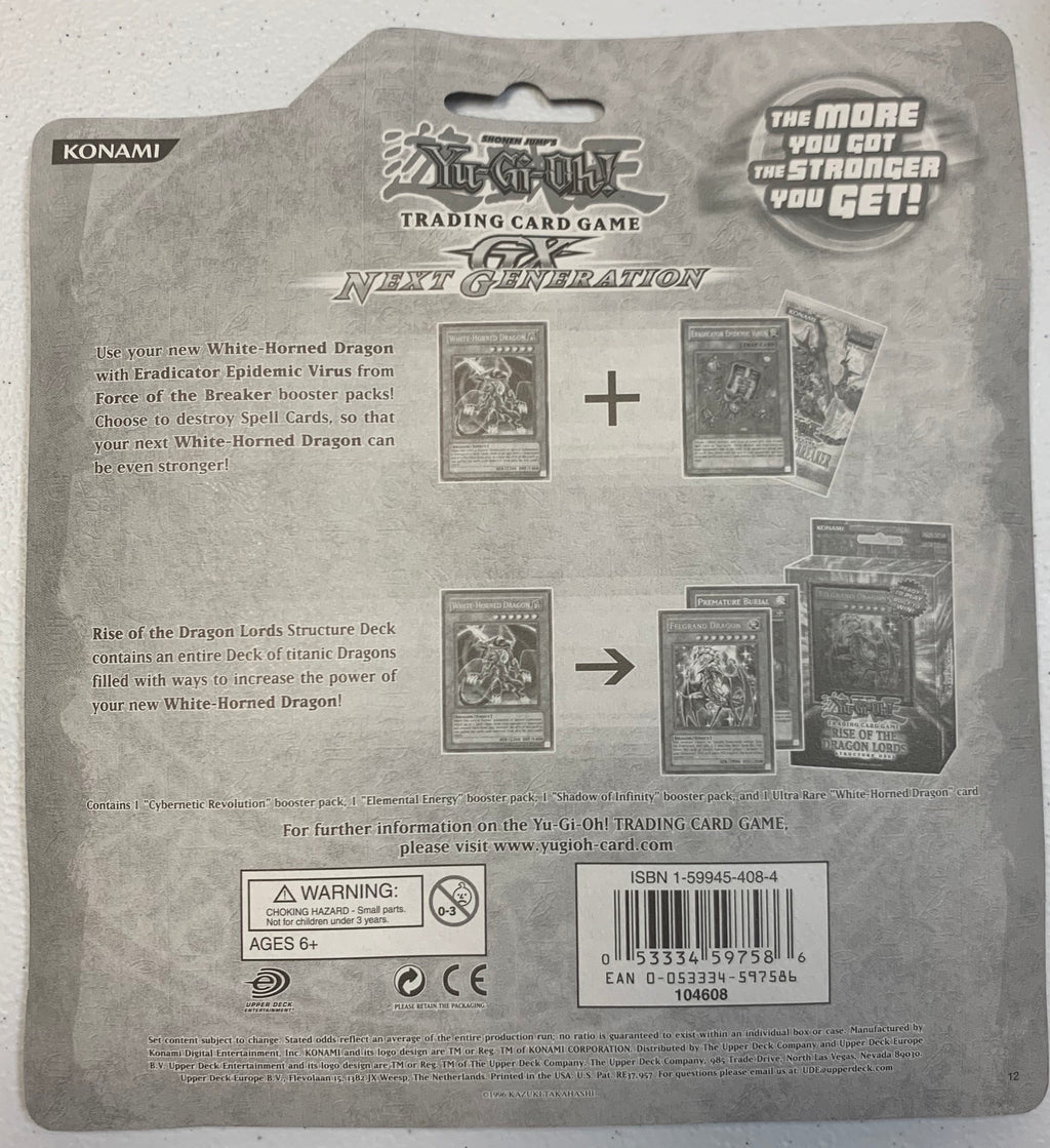 GX Next Generation 3 Booster Pack Blister Factory Sealed Yugioh