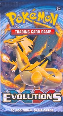 Pokemon XY Evolutions Booster-Pack Sealed (Random Artwork)
