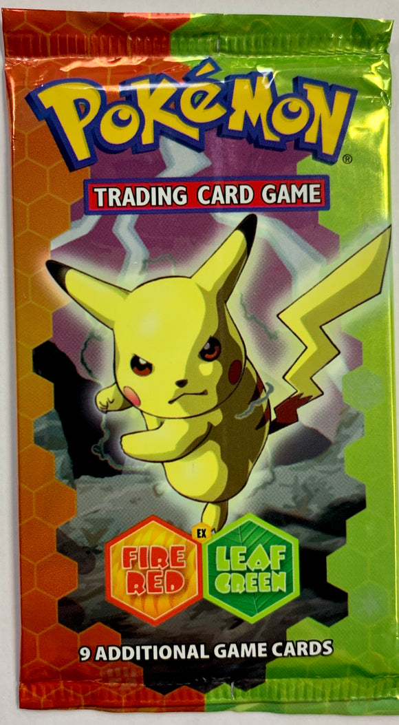 Pokemon EX Fire Red Leaf Green Booster-Pack (Pikachu Art)