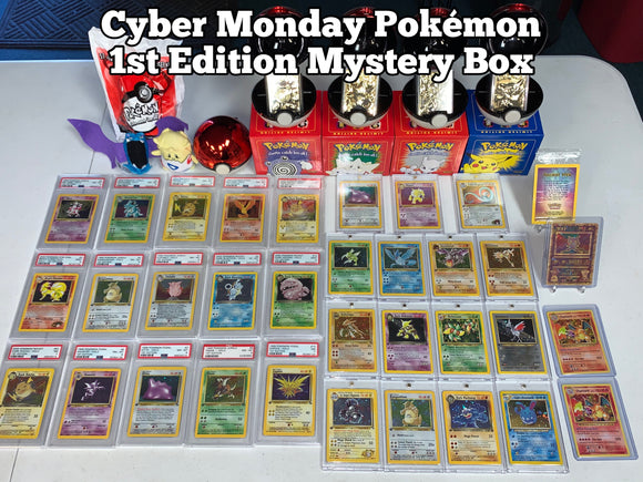 (AVAIL @ 5 PM PST) *Cyber Monday* Vintage WOTC Mystery BOX!