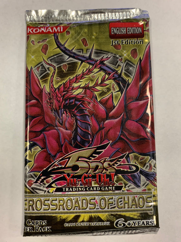 Yugioh Crossroads of Chaos Booster-Pack (1st Edition)