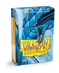 Dragon Shield Matte Japanese Sleeves - Sky Blue (60-Pack) SMALL