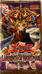 Yugioh Labyrinth of Nightmare Booster-Pack (Unlimited) Original Sealed