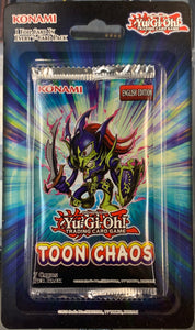 Yugioh Toon Chaos Booster Pack Unlimited (Sealed)
