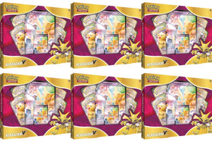 Pokemon Alakazam V Box CASE of 6