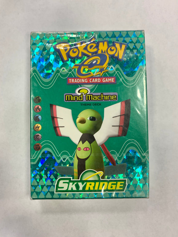 Pokemon Skyridge Mind Machine Theme Deck (Sealed)