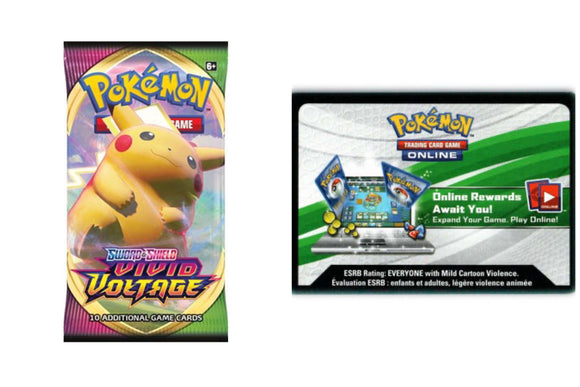 Vivid Voltage PTCGO Code Pokemon TCG Online (Emailed)