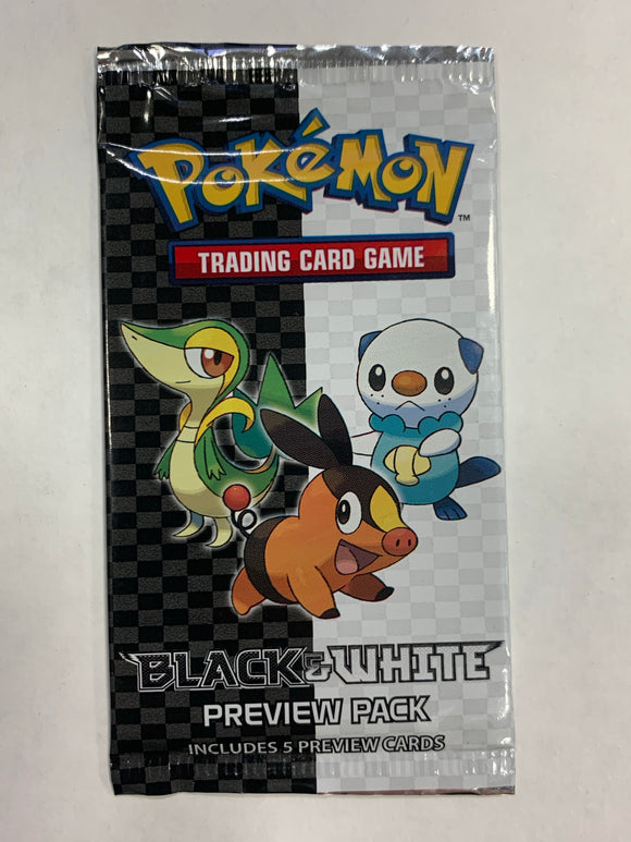 Pokemon Black & White Preview Pack Booster-Pack Sealed