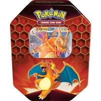 Pokemon Hidden Fates Tin Charizard GX (Sealed)