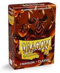 Dragon Shield Classic Japanese Sleeves - Crimson (60-Pack) SMALL