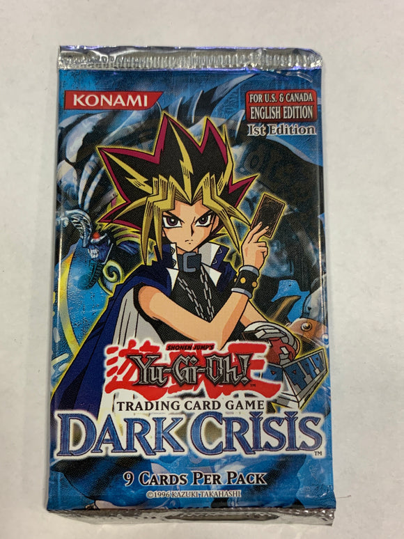 Yugioh Dark Crisis Booster-Pack (1st Edition)