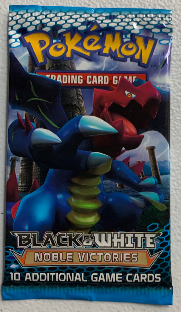 Pokemon Black & White Noble Victories Booster-Pack (Druddigon Art)
