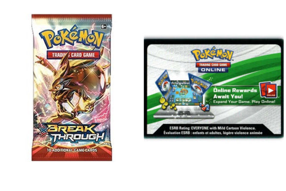 BreakThrough PTCGO Code Pokemon TCG Online (Emailed)