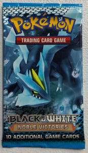 Pokemon Black & White Noble Victories Booster-Pack (Kyurem Art)