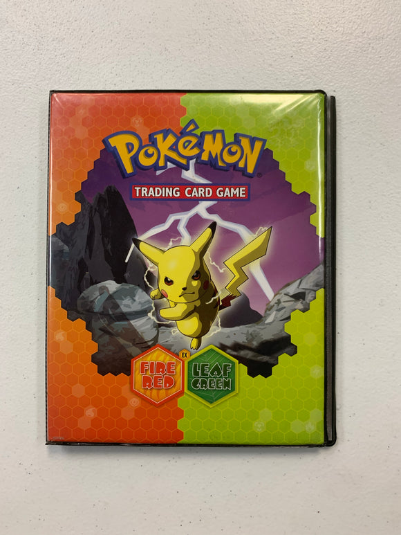 Vintage 2004 Pokemon EX Fire Red Leaf Green Binder Folder Album (used)