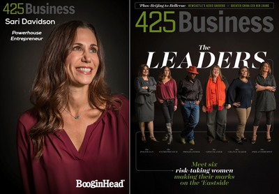 "Sari is 425 Business Magazine's ""Powerhouse Entrepreneur"""