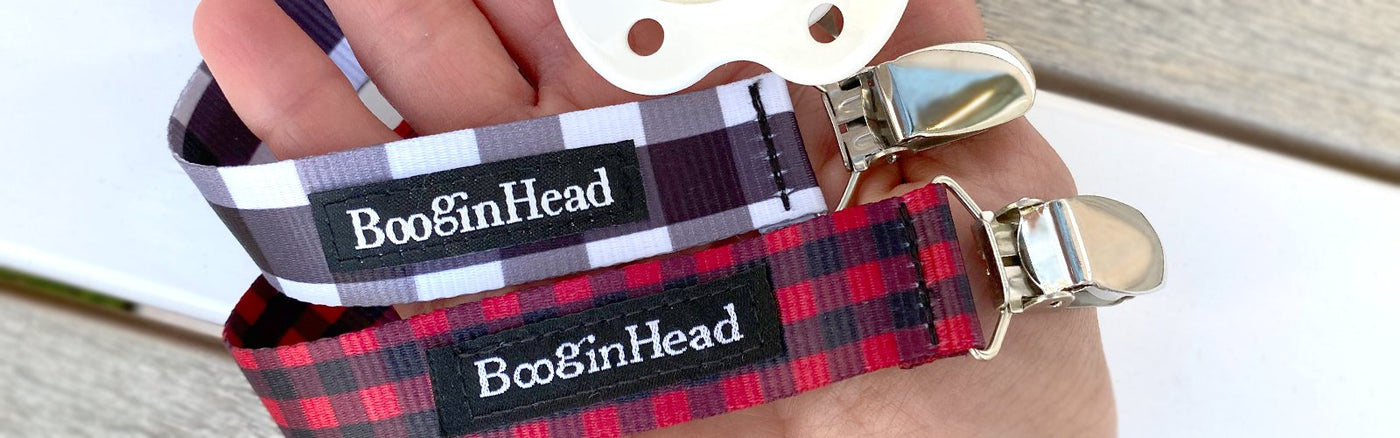 BooginHead Pacifier Clips