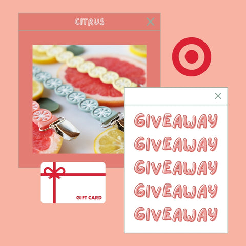 100$ giveaway to Target