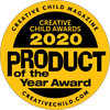 Award for PaciPal Teether Blanket, Creative Child magazine Product of the Year 2020