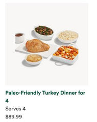 order Thanksgiving dinner from Whole Foods