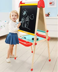 Wooden art easel for kids and toddlers from Amazon.com