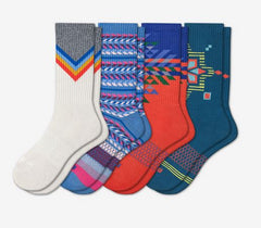 BOMBAS women's holiday patterned socks