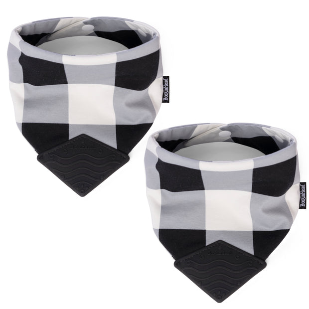 NEW! 2-Pack Bandana Teether Bibs, various colors