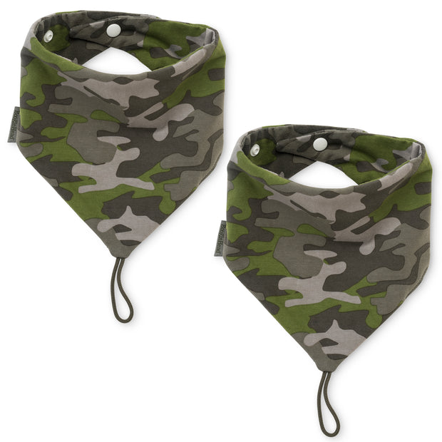 NEW! 2-Pack Pacifier Holder PaciGrip Bibs