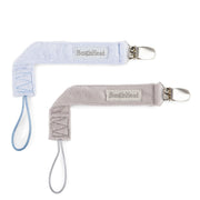 2-Pack LUXE Pacifier Clips, various colors