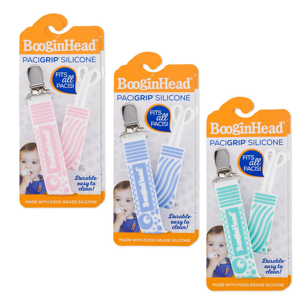 Silicone Pacifier Clips, various colors