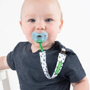 2-Pack Pacifier Clips, various colors