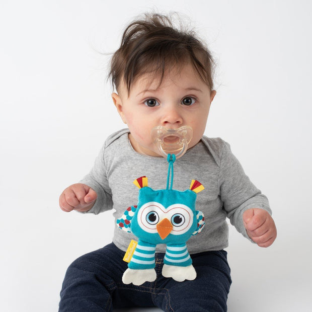 PaciPal Pacifier Stuffed Animal, various colors