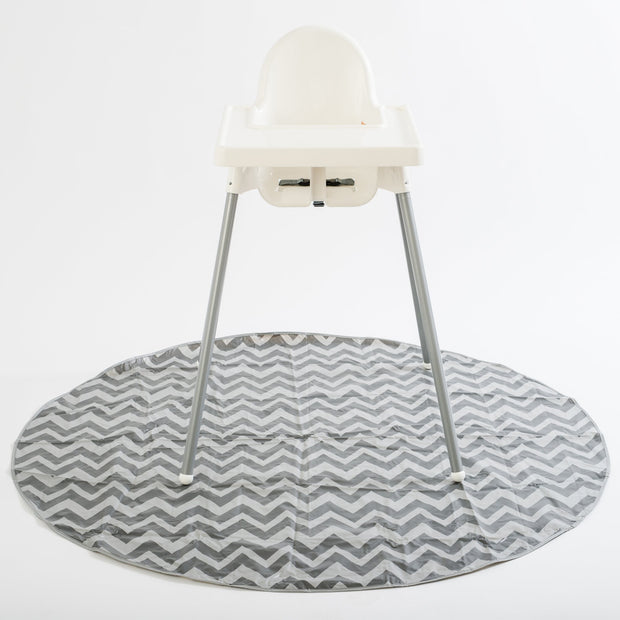 SplatMat High Chair & Floor Mat, various colors