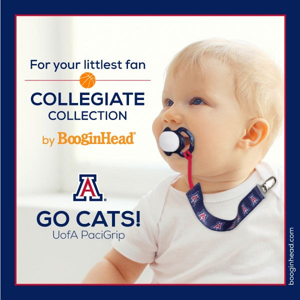 Collegiate Pacifier Clips, various schools