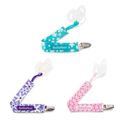 Multi-Pack Pacifier Clips, various colors
