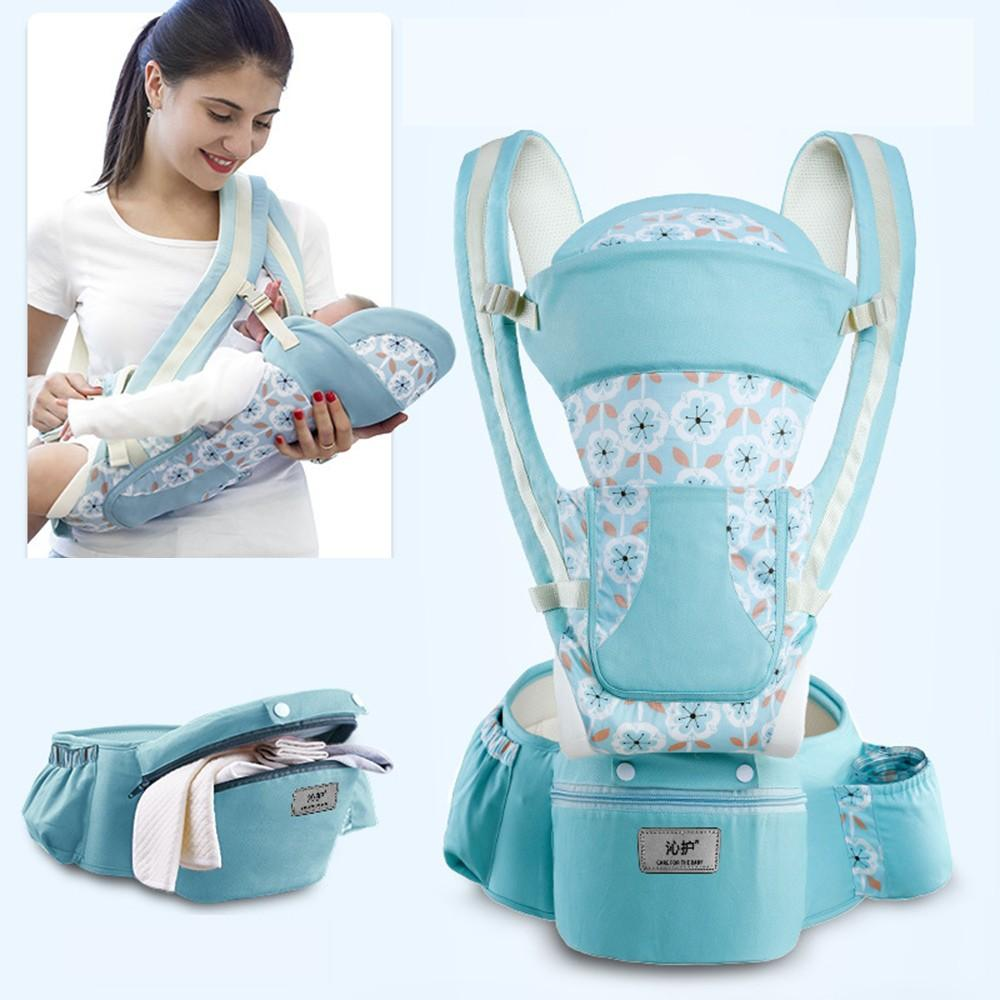 0-48M Ergonomic Baby Carrier Infant Baby Hipseat Carrier - Alilight.net