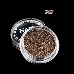 1 Pcs Sequin Shimmer Glitter Eyeshadow Palette Potato Mud Texture Mono Color Eye Shadow Powder Eye Makeup Cosmetics TSLM2 - Alilight.net