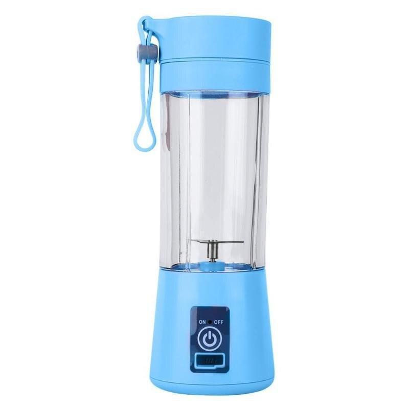 2/4/6 Blades 380ML Handhels USB Juicer Bottle Portable USB Electric - Alilight.net