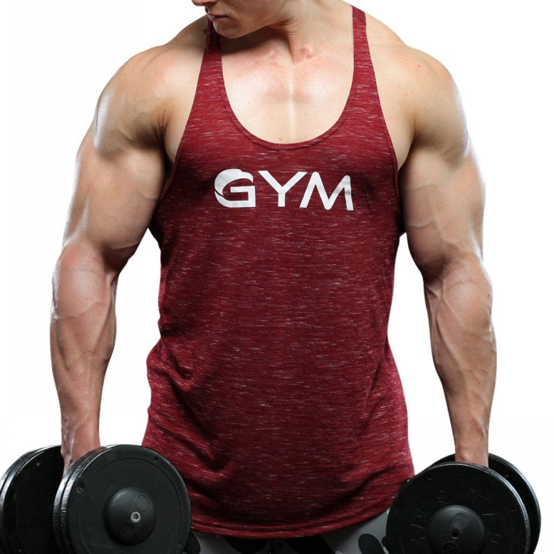 Men Tops Tank O Neck Casual Wear - Alilight.net
