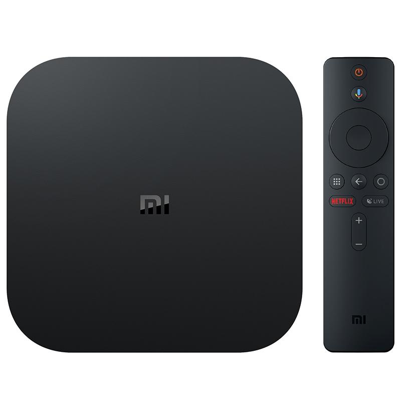 Xiaomi Mi Box S with 4K HDR Android TV Streaming Media Player and Google Assistant - Alilight.net