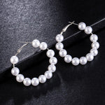 2019 New Fashion Big pearl Stud Earrings For Women Bohemian Statement - Alilight.net