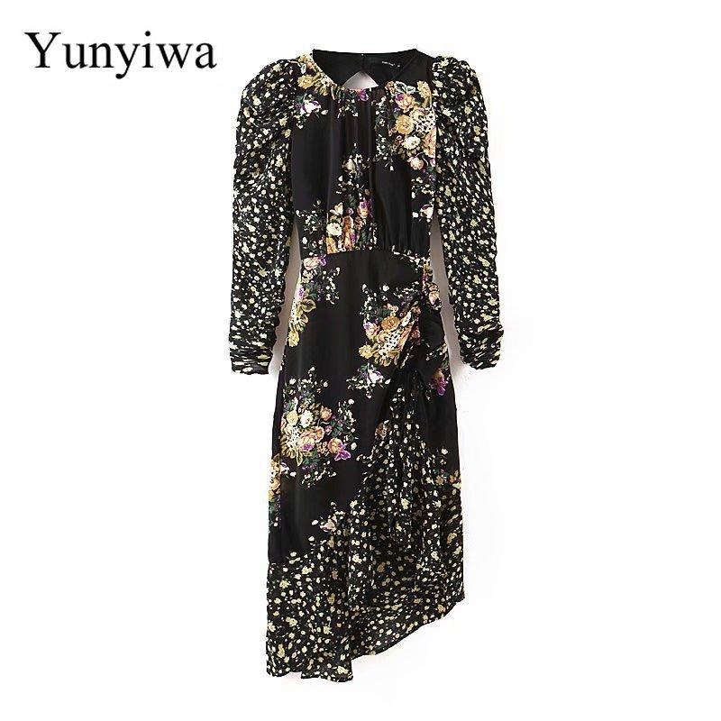 Women Dresses Party Long Loose Maxi Dress Elegant Vestidos - Alilight.net