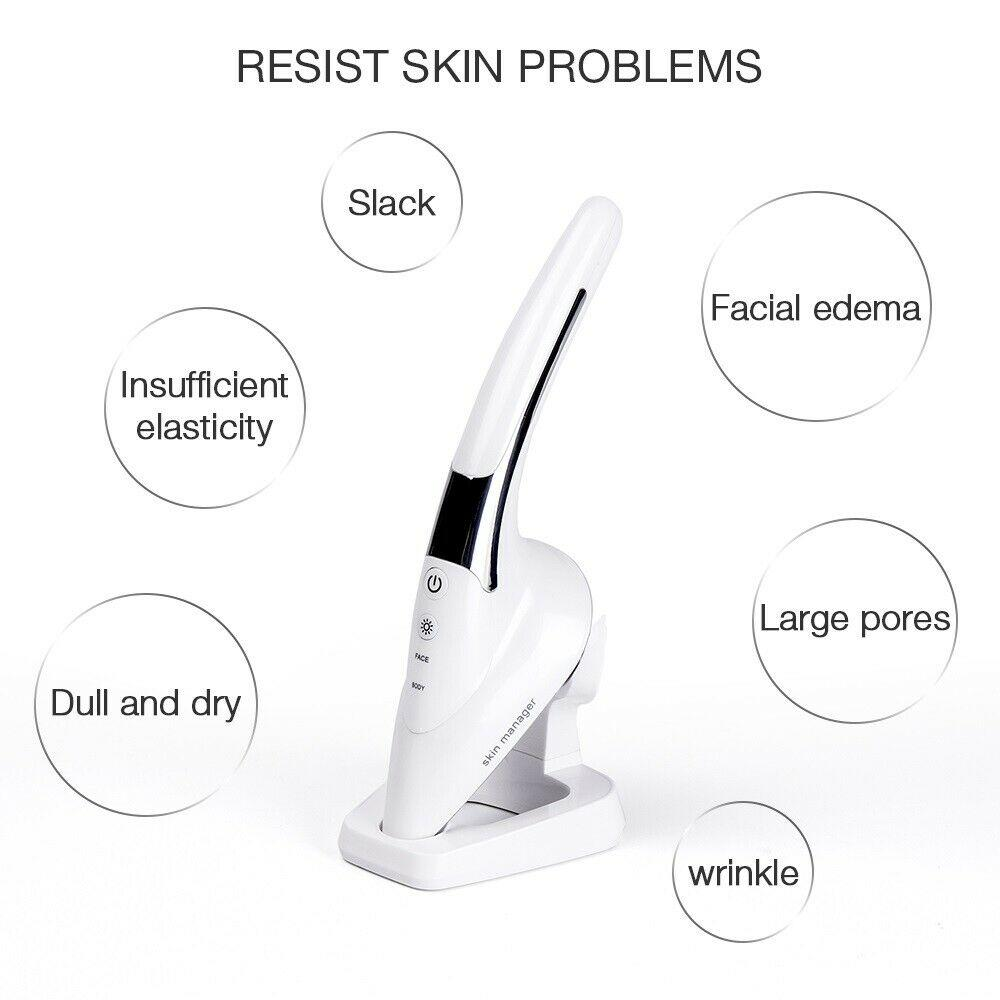 2020 New LED Light Anti Aging Puffiness Wrinkle Facial Body Massage Device - Alilight.net