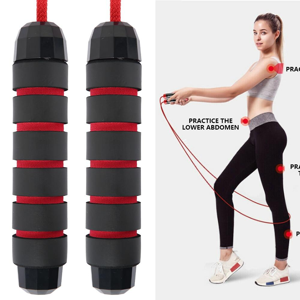 3M Bearing Skip Rope Speed Fitness Aerobic Jump Rope - Alilight.net