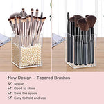 BESTOPE Makeup Brushes Set With Tapered Handle & Case Bag - Alilight.net